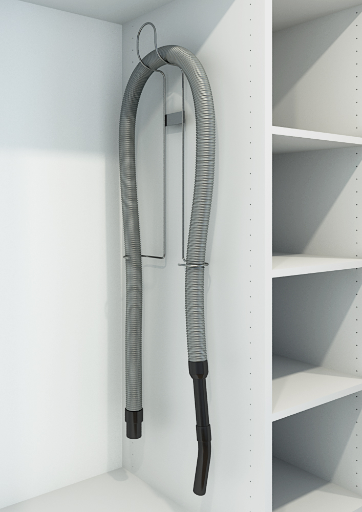 brooms cupboard sliding, utility roo