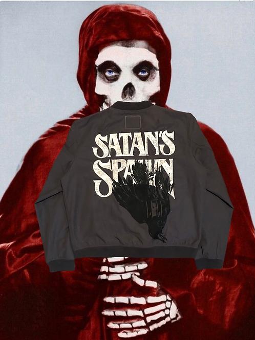 Spawn of Satan Bomber jacket.