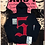 Thumbnail: Punk Patched Zip Up Hoodie