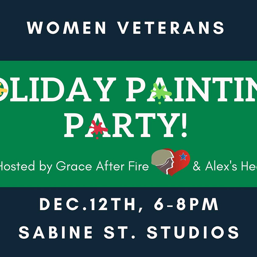 Women Veterans Holiday Painting Party