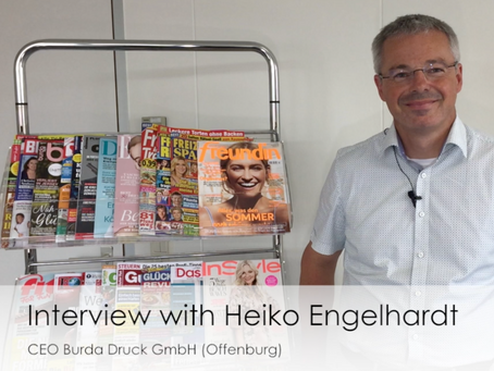 Production tracking at Burda Druck: Interview with Heiko Engelhardt, CEO