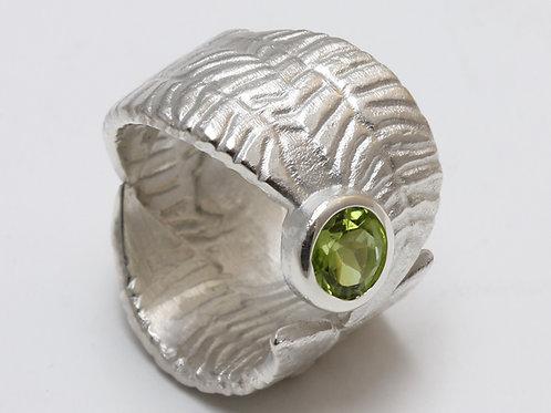 Olivenblattring Silber