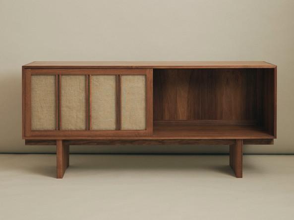 Sideboard | Tasmanian Blackwood w/ Linen Made at the Sturt School For Wood 2020 - Image @danielmulheran