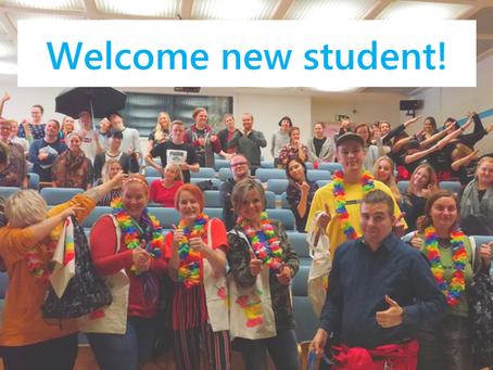 Welcome Humak student!