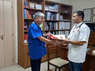 Student training at Cardiac Care Centre