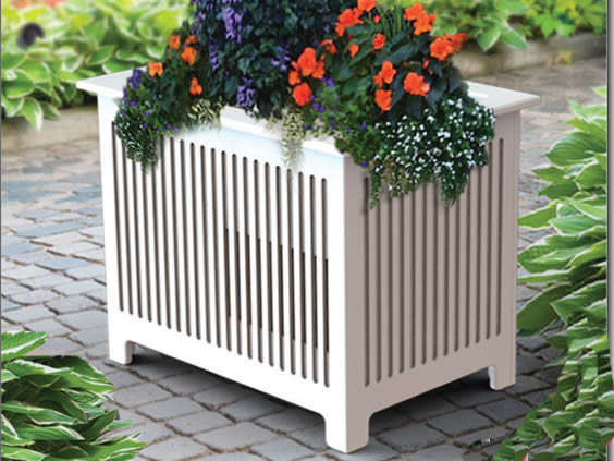 Planter speaker outdoor speakers