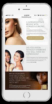 Stylish Make up website