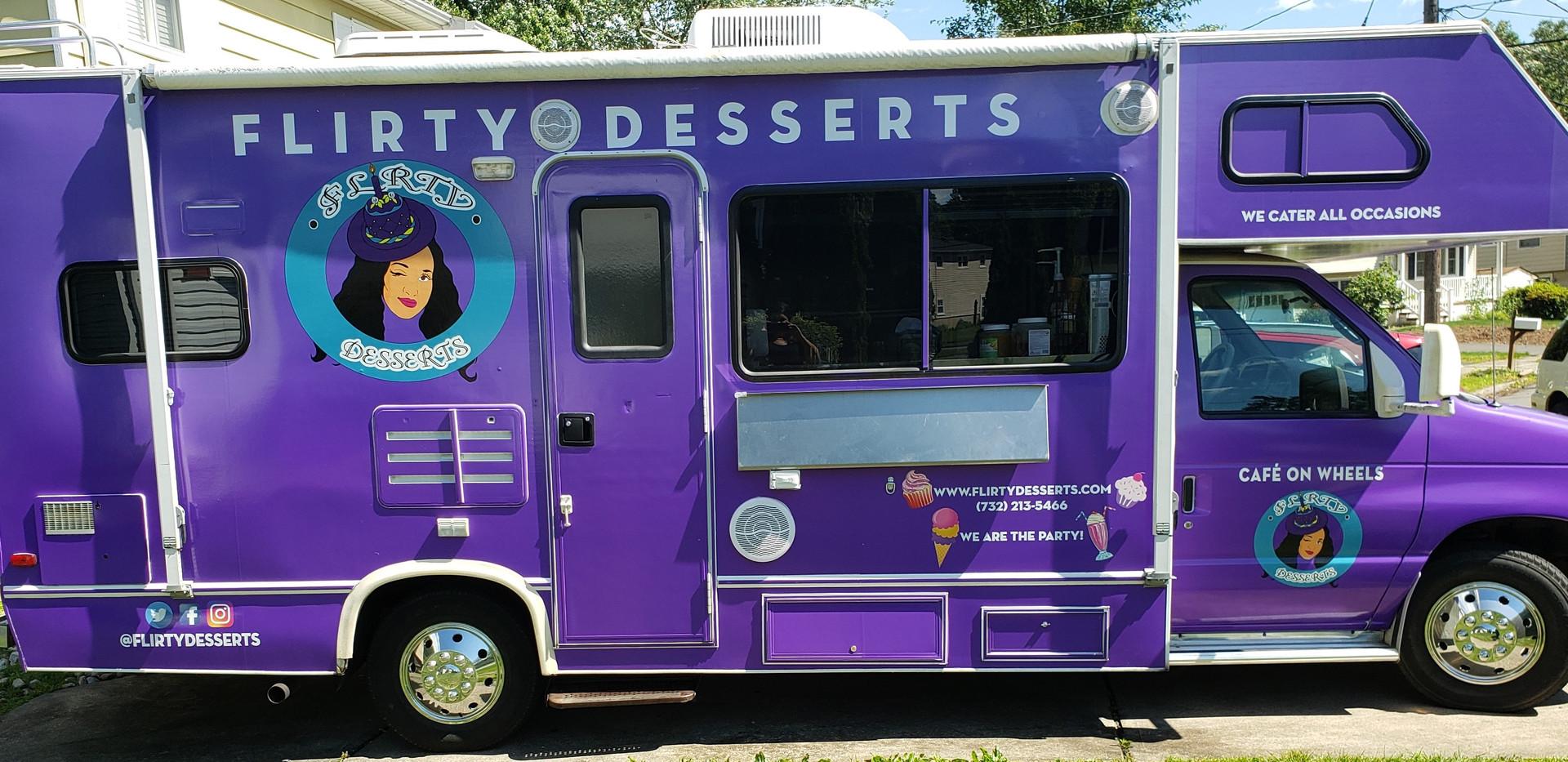 Flirty Desserts' Truck