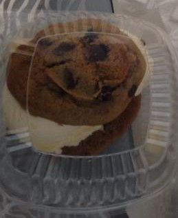 Fresh Baked I ce Cream Cookie Sandwich