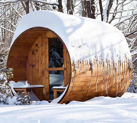 Sauna Fun-TWK2 ⦰1800  Longueur 1m80 4 personnes