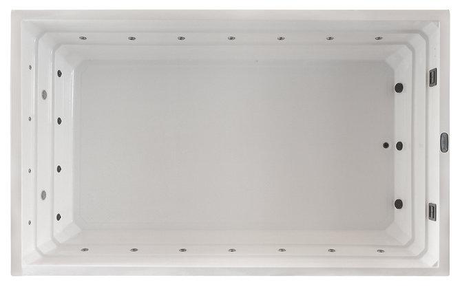 Spa Jacuzzi Square VSP5 - Piscine - dimensions 500x300x110
