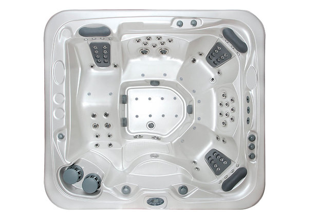 Spa Jacuzzi Fun-VF92 - 5 places - dimensions 255x231x90