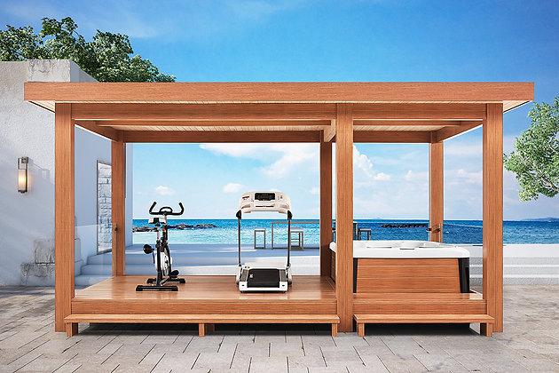 Pavillon Bien-Etre PV-110 Dimensions 558x350x280