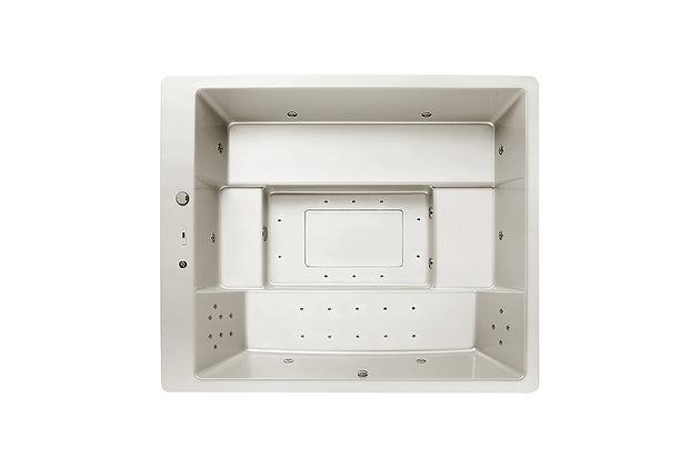 Spa Square VS25 - 6 places - dimensions 280x235x100