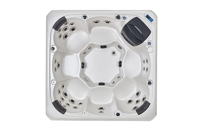 Spa Jacuzzi Spa Fun-WS94 - 7 places - dimensions 220x220x90