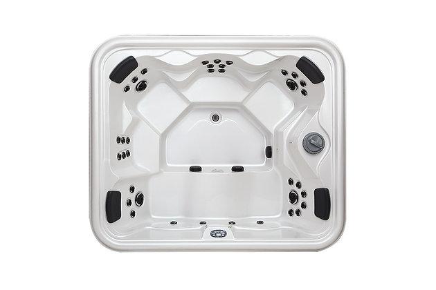 Spa Jacuzzi Fun-WS93F - 6 places - dimensions 231x196x83