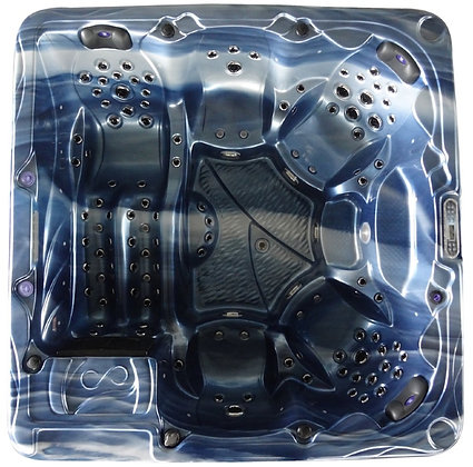 Spa Fun-K - 5 places - dimensions 230x230x96