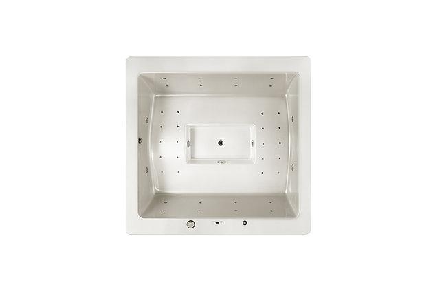 Spa Square VS27 - 4 places - dimensions 215x225x89