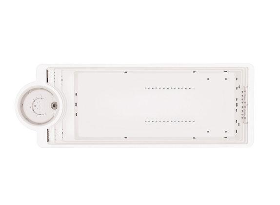 Spa de Nage SSwim P12 - dimensions 12mx4m20x1m73