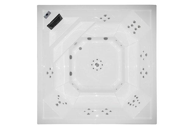 Spa Square VSP2 - 9 places - dimensions 300x300x110