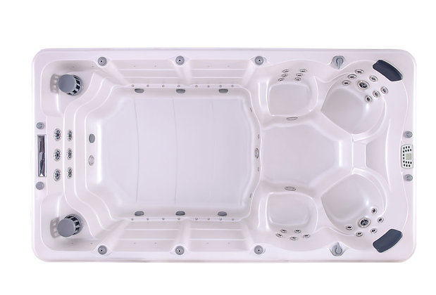 Spa de Nage SSwim 38S - dimensions 380x212x111