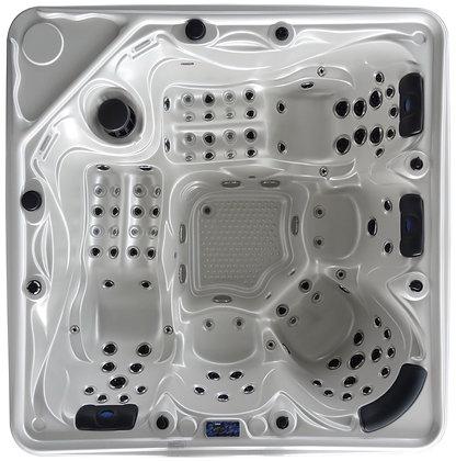 Spa Fun-H - 5 places - dimensions 240x240x96