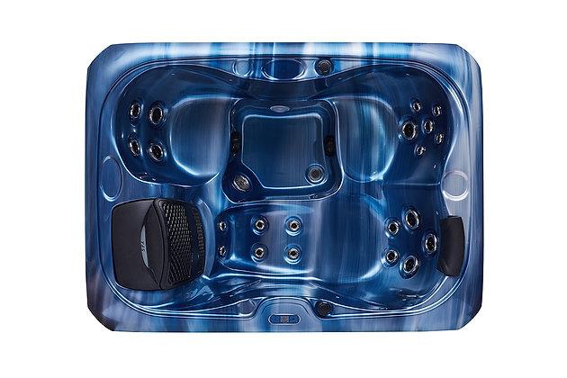 Spa Jacuzzi Fun-WS95 - 3 places - dimensions 215x155x90