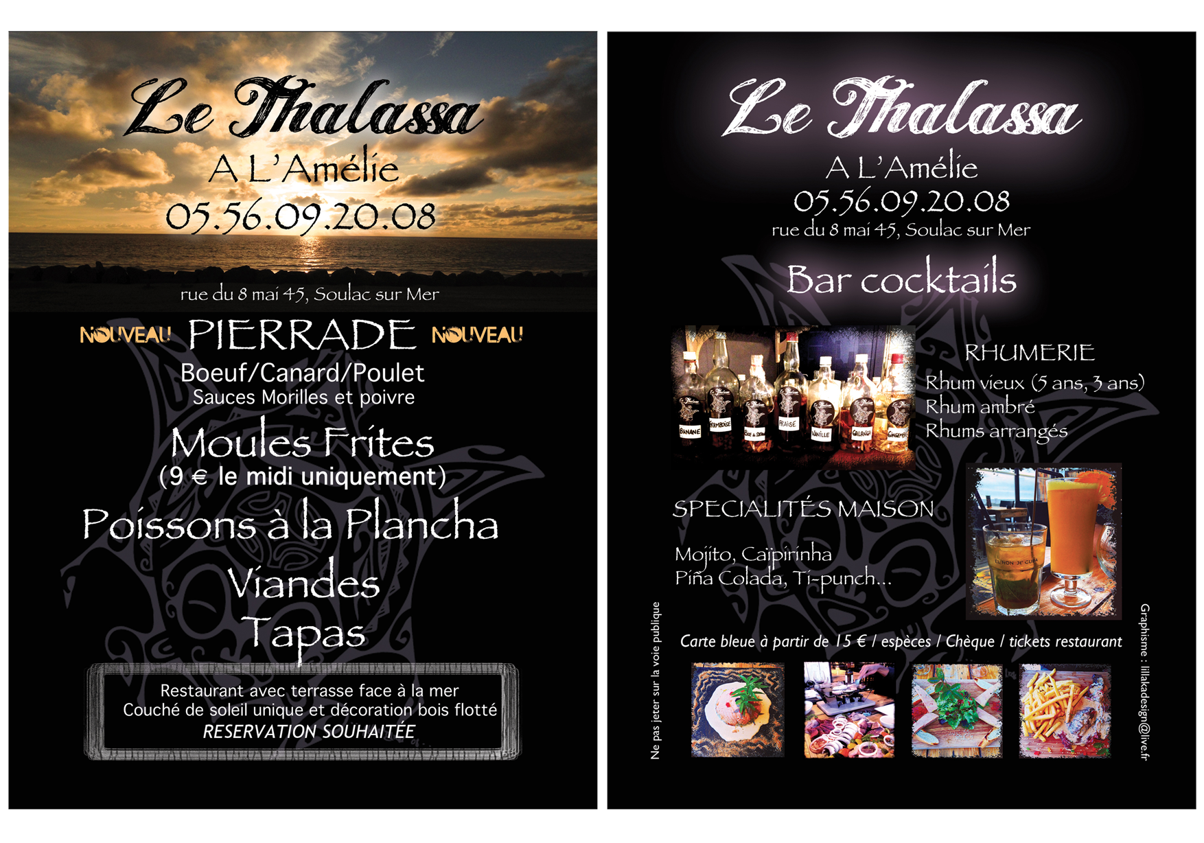 Flyer promotionnel