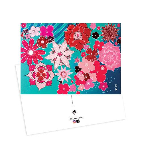 Carte postale Flow
