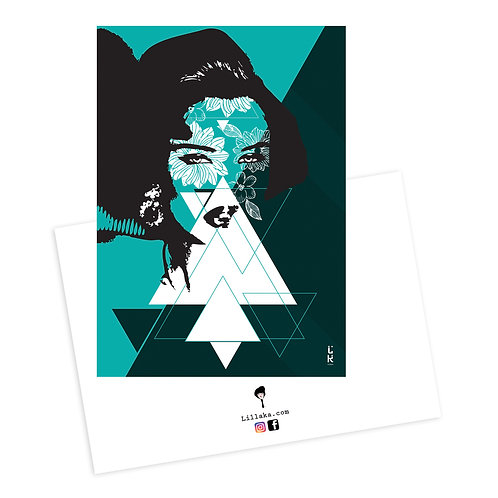 Carte postale Her
