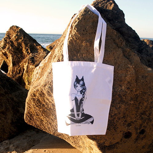"Le tote bag ""Kachina"""