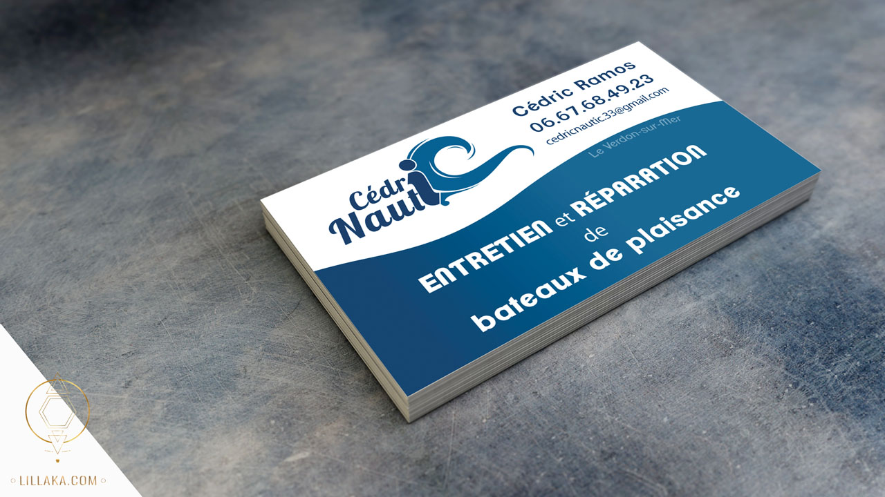 Conception de cartes de visite