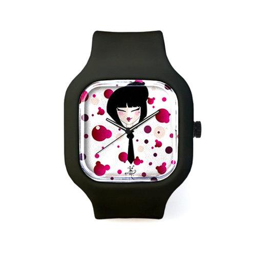 "La montre ""black tie"""