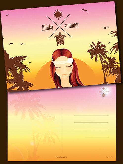 Carte postale Lillaka summer