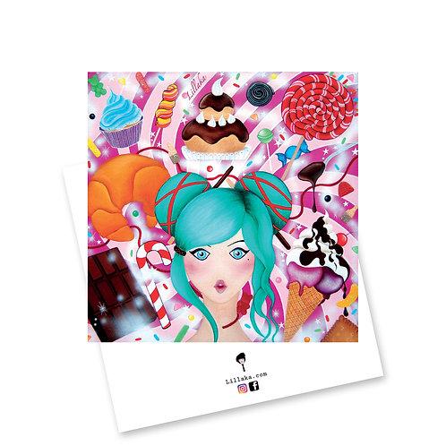Carte postale Psychedélices