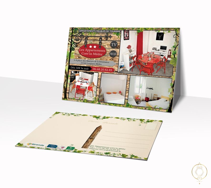 Cartes postales promotionnelles