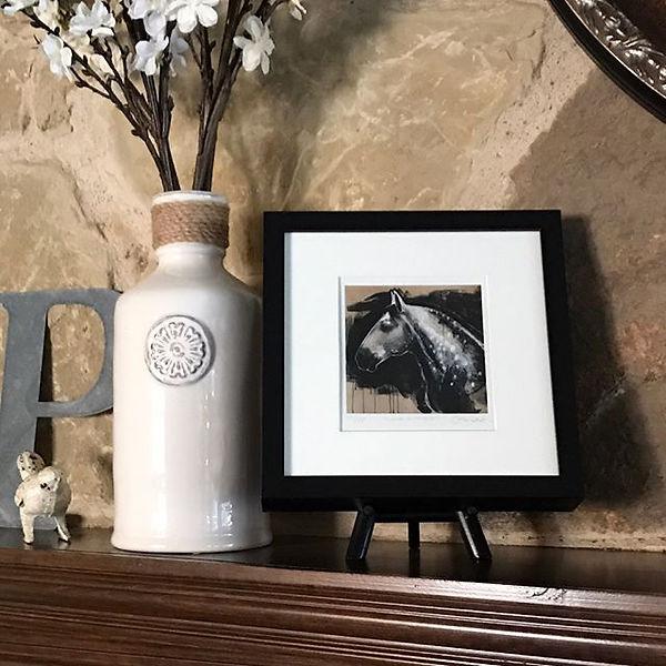 I spy my small framed print _cheval de C