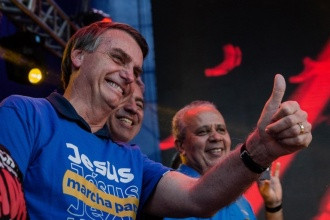 Bolsonaro na Marcha para Jesus de 2019