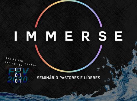 IMMERSE   Seminário para Pastores e Líderes