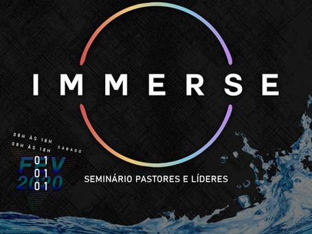 IMMERSE | Seminário para Pastores e Líderes