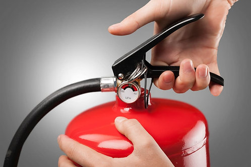 ABC-Pulver-Feuerlöscher mieten inklusive der gesetzlichen Prüfungen