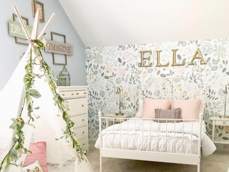 Got Blank Spaces?  Cover them up with custom printed wallcovering