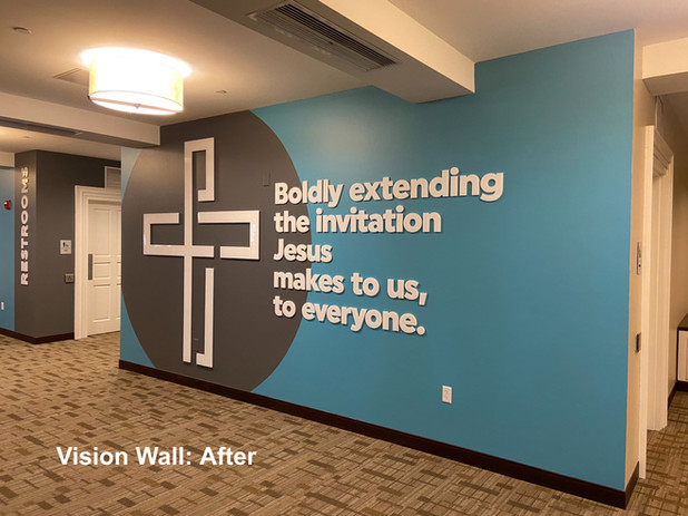 Vision Wall: After