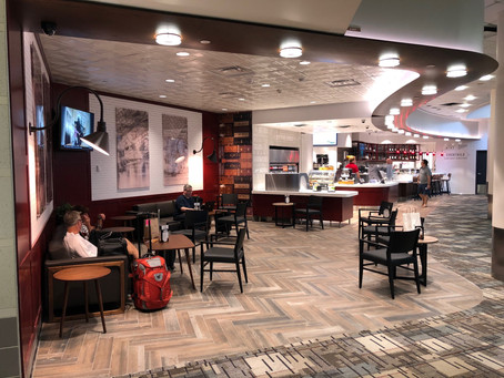 City Point Bar: MSP's coolest bar to hang out waiting for you next flight!
