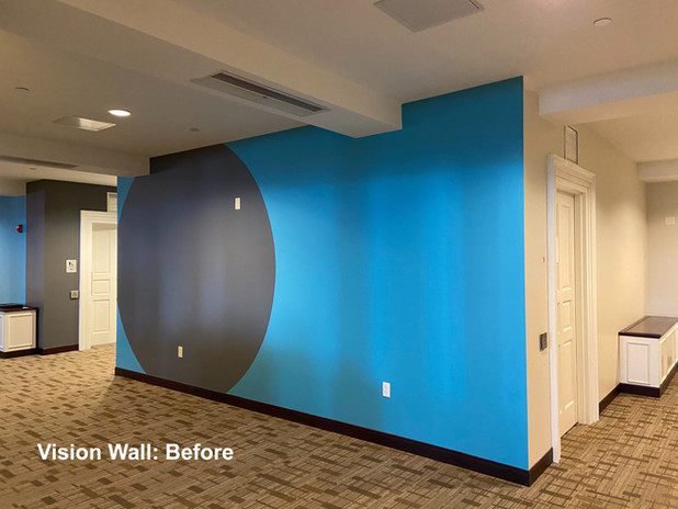 Vision Wall:Before
