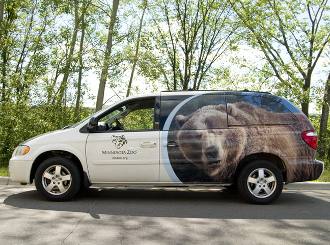 Minnesota Zoo Vehicle Wrap