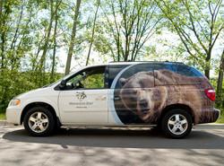 Minnesota Zoo Vehicle Wrap