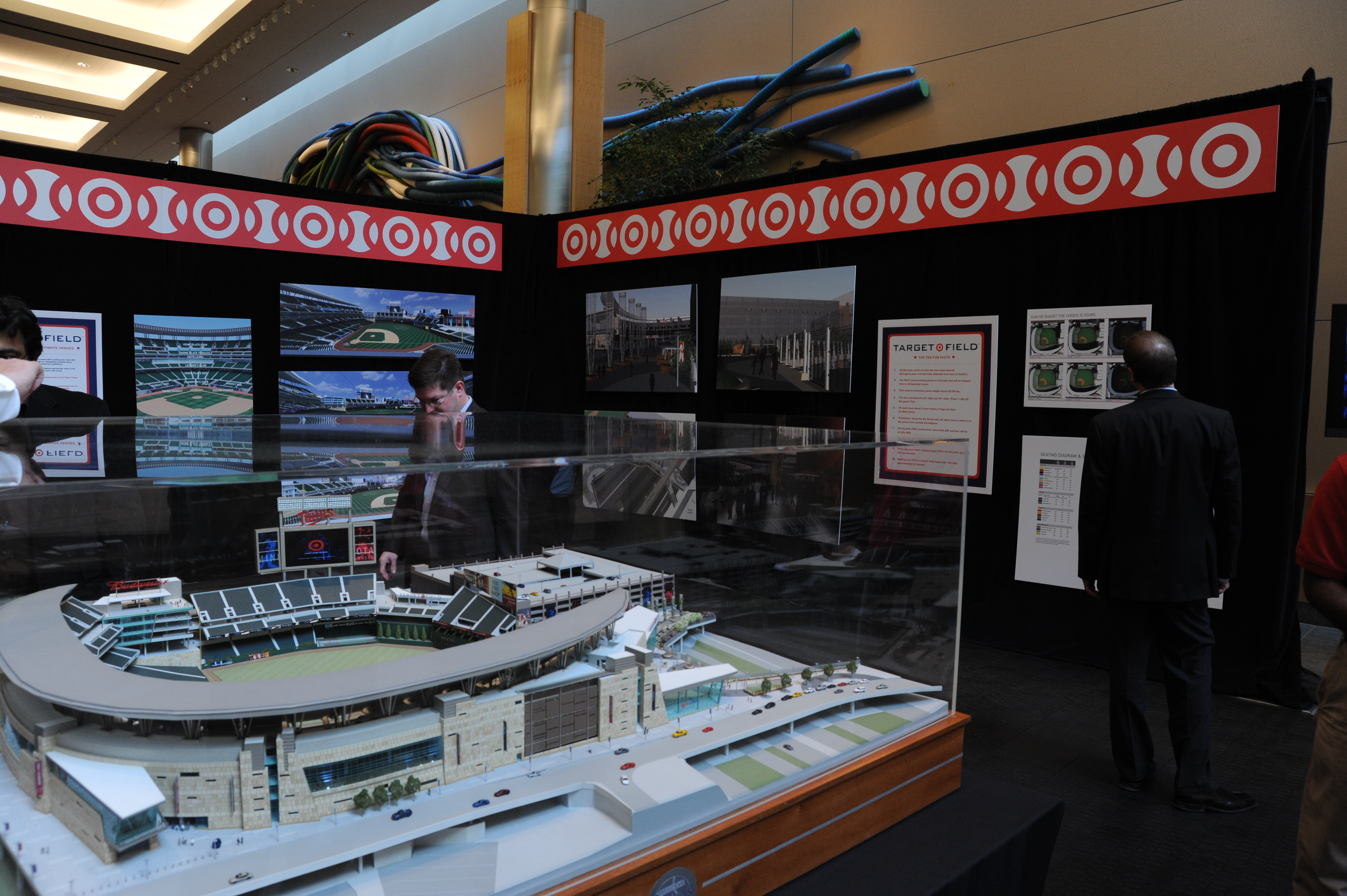 Target Field: Stadium Presentation