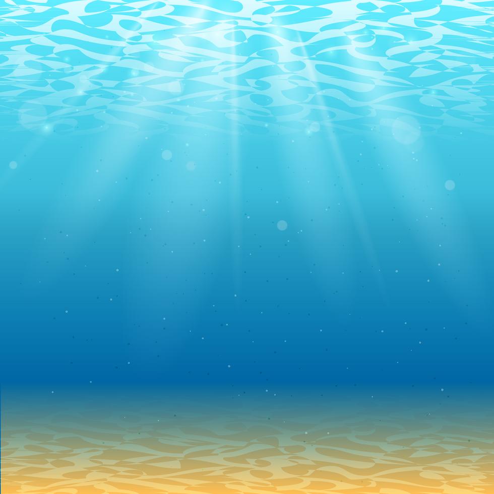 Derin Deniz İlüstrasyon