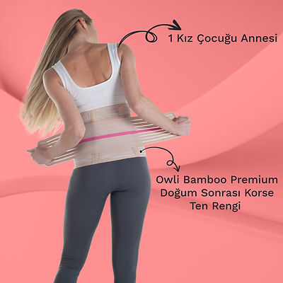 Owli Bamboo Premium Doğum Sonrası Korse